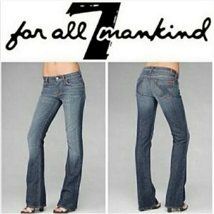 7 For All Mankind Flynt bootcut jeans 28